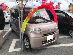 沖縄の中古車 ダイハツ タント 車両価格 52万円 リ済込 平成24年 7.3万K ピンク
