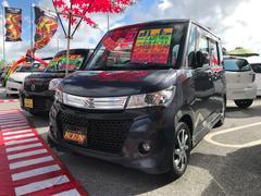沖縄の中古車 スズキ パレットSW 車両価格 53万円 リ済込 平成23年 8.8万K グレー