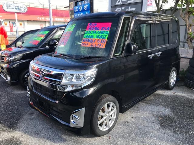 沖縄の中古車 ダイハツ タント 車両価格 103万円 リ済込 平成26年 3.5万km ブラック
