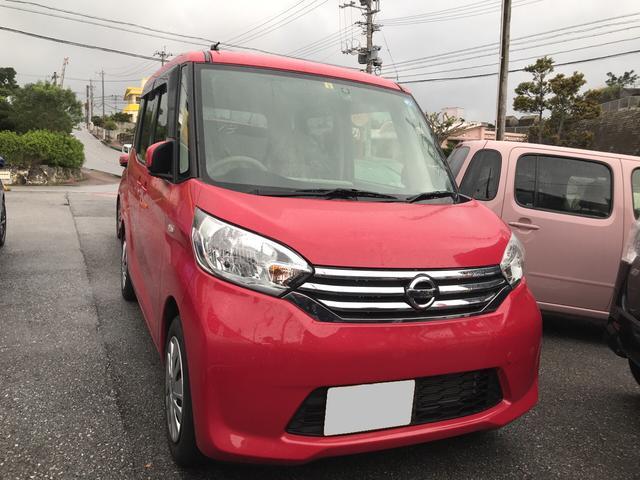 沖縄の中古車 日産 デイズルークス 車両価格 86万円 リ済込 平成27年 1.9万km ピンク