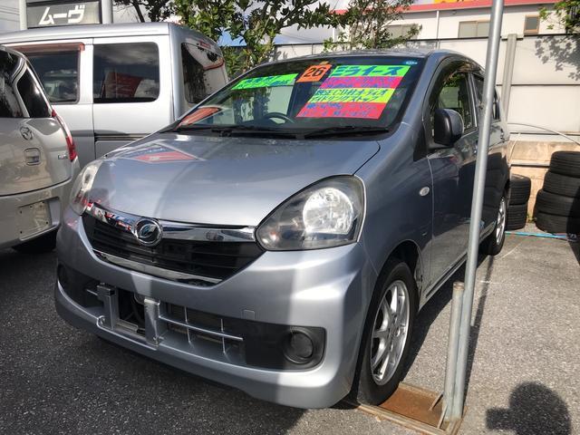沖縄の中古車 ダイハツ ミライース 車両価格 47万円 リ済込 平成26年 5.4万km シルバー