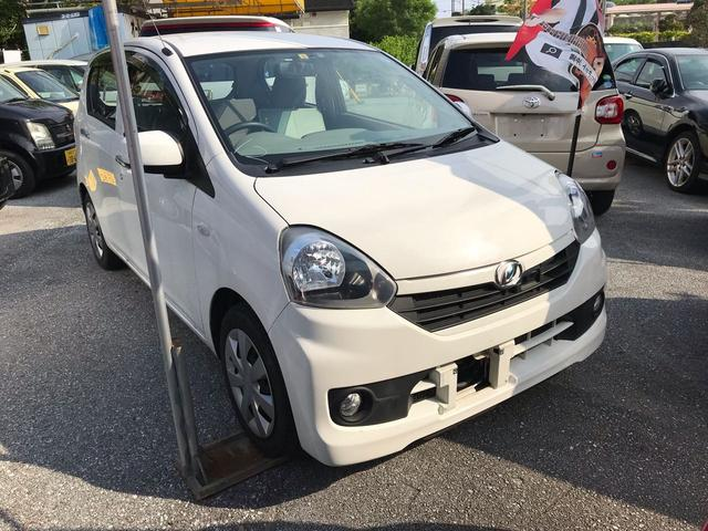 沖縄の中古車 ダイハツ ミライース 車両価格 42万円 リ済込 2014(平成26)年 5.7万km ホワイト