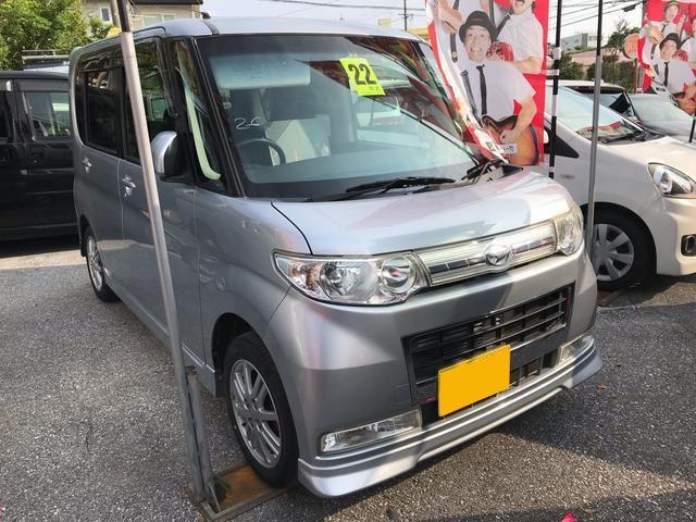 沖縄の中古車 ダイハツ タント 車両価格 52万円 リ済込 2010(平成22)年 9.2万km シルバー