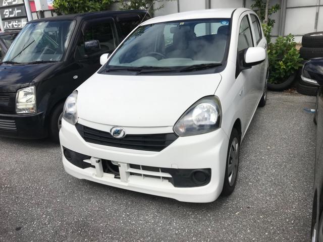 沖縄の中古車 ダイハツ ミライース 車両価格 32万円 リ済込 2014(平成26)年 4.3万km ホワイト