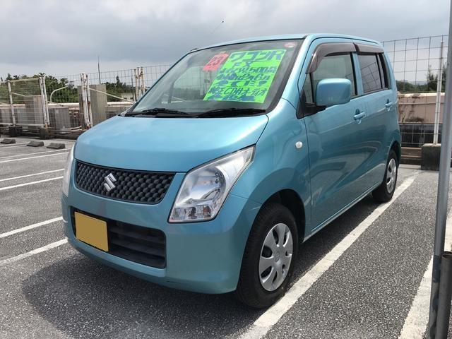 沖縄の中古車 スズキ ワゴンR 車両価格 36万円 リ済込 2011(平成23)年 8.8万km ブルー