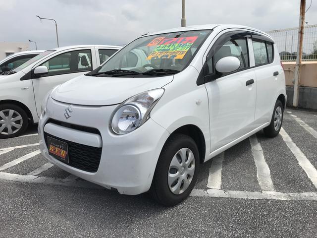 沖縄の中古車 スズキ アルト 車両価格 42万円 リ済込 2014(平成26)年 4.5万km ホワイト