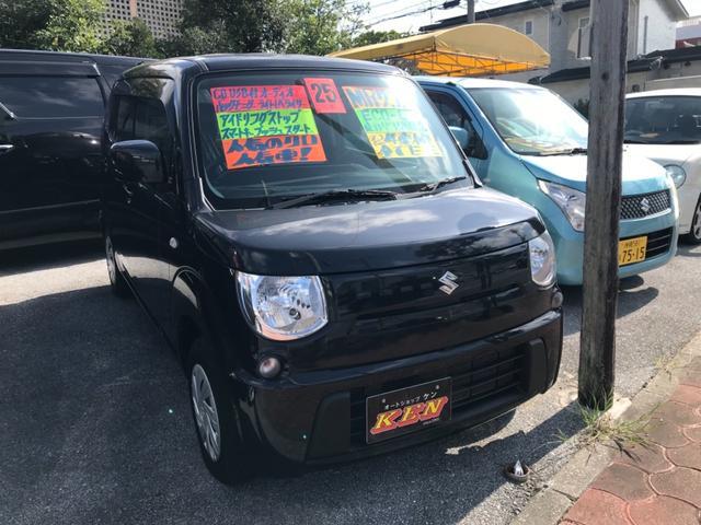 沖縄の中古車 スズキ MRワゴン 車両価格 49万円 リ済込 2013(平成25)年 7.4万km ブラック