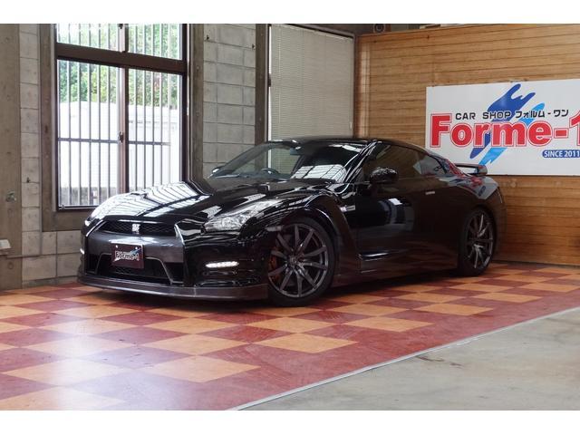 中頭郡北谷町 CAR SHOP Forme-1 日産 GT-R プレミアムエディション 車高調 ワンオーナー 社外マフラー メテオフレークブラックP 2.8万km 2012(平成24)年