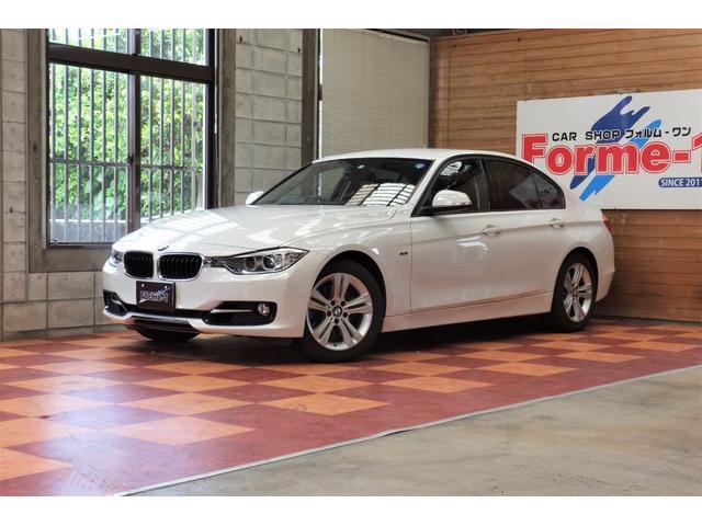 BMW3シリーズ320iスポーツ入庫!!! フル装備・CD・ミュージックサーバー・過給器・バックカメラ・ETC