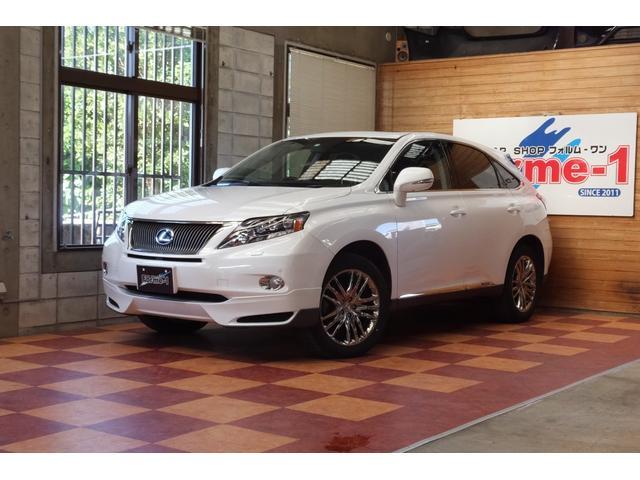 沖縄の中古車 レクサス RX 車両価格 195万円 リ済別 2011(平成23)年 8.0万km パールホワイト