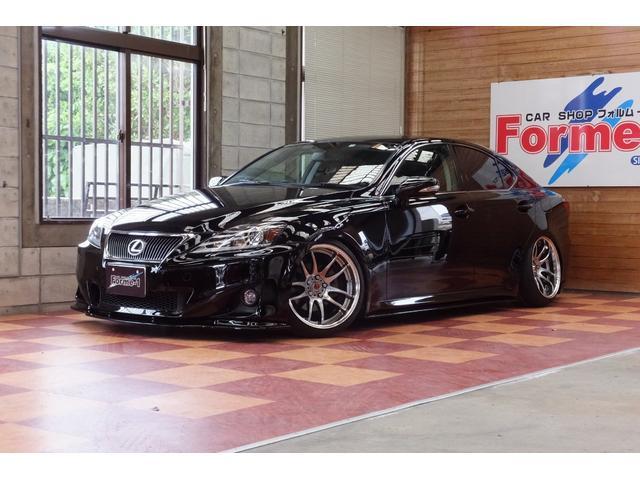 沖縄の中古車 レクサス IS 車両価格 169万円 リ済別 2010(平成22)年 8.1万km ブラック