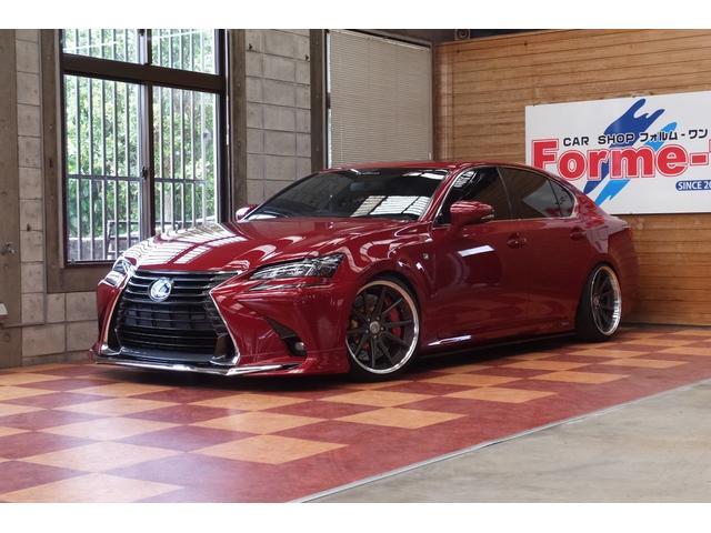 沖縄の中古車 レクサス GS 車両価格 379万円 リ済別 2012(平成24)年 8.5万km レッドM