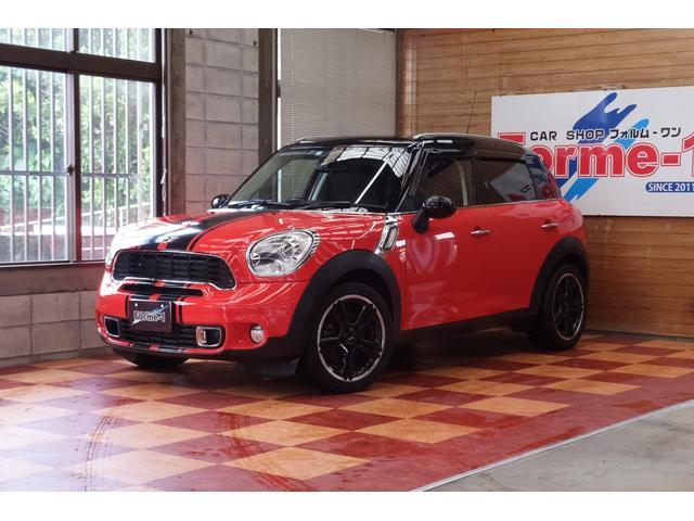 沖縄県の中古車ならMINI クーパーS クロスオーバー 無事故車 純正18インチアルミ プッシュスタート HDDナビ