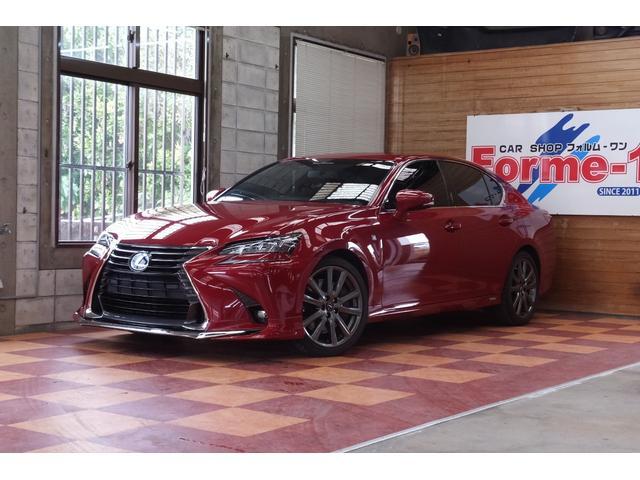 沖縄の中古車 レクサス GS 車両価格 249万円 リ済別 2012(平成24)年 8.7万km レッドM