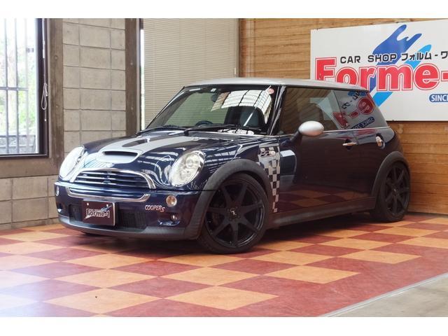沖縄の中古車 MINI MINI 車両価格 55万円 リ済別 2006(平成18)年 12.1万km ダークブルー