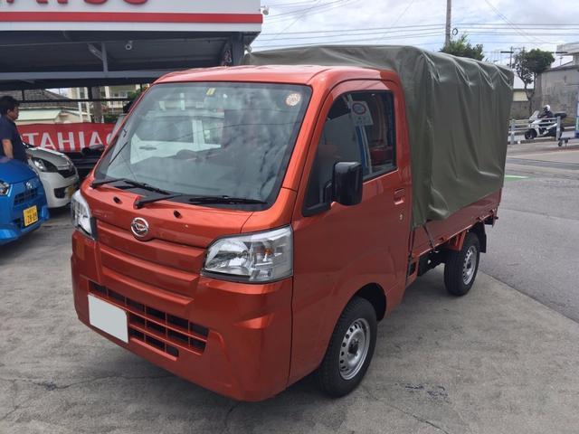 沖縄の中古車 ダイハツ ハイゼットトラック 車両価格 ASK リ済込 新車  トニコオレンジM