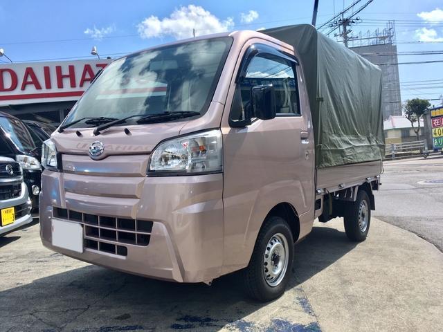 沖縄の中古車 ダイハツ ハイゼットトラック 車両価格 ASK リ済込 新車  ピンクM