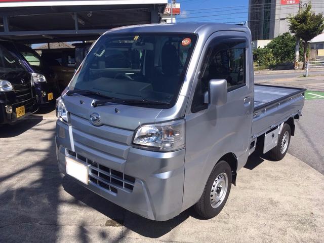 沖縄の中古車 ダイハツ ハイゼットトラック 車両価格 ASK リ済込 新車  シルバーM