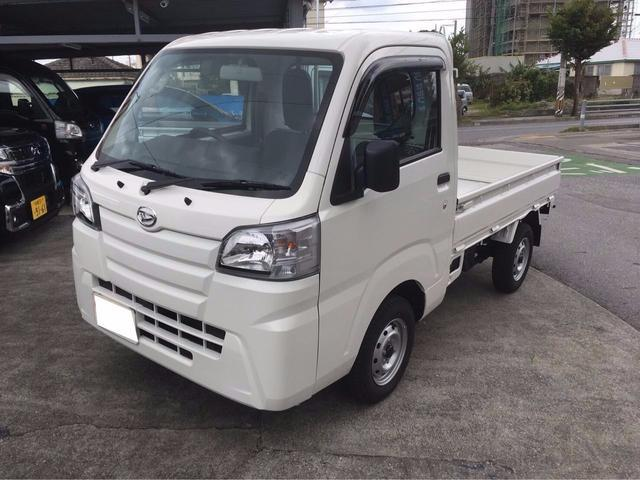 沖縄の中古車 ダイハツ ハイゼットトラック 車両価格 ASK リ済込 新車  ホワイト