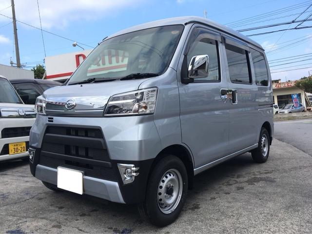 沖縄の中古車 ダイハツ ハイゼットカーゴ 車両価格 ASK リ済込 新車  シルバーM
