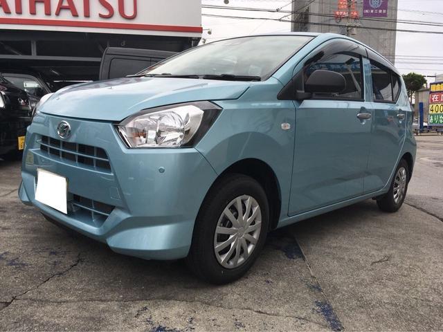 沖縄の中古車 ダイハツ ミライース 車両価格 ASK リ済込 新車  ライトブルーM