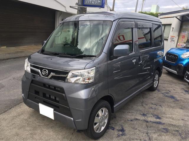 沖縄の中古車 ダイハツ アトレーワゴン 車両価格 ASK リ済込 新車  グレーM