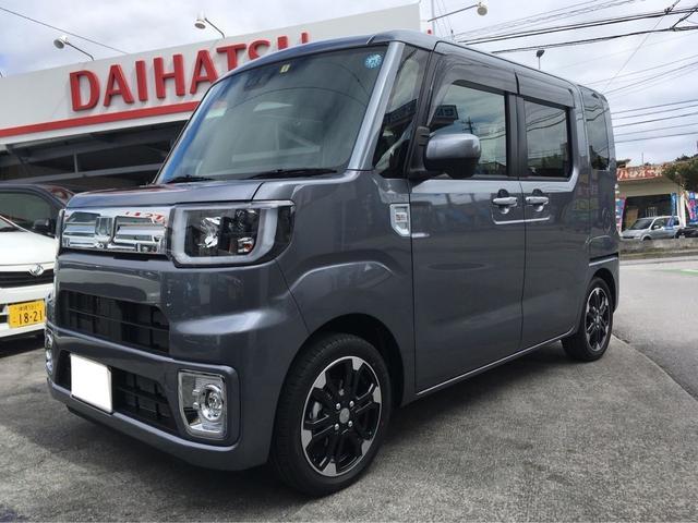 沖縄の中古車 ダイハツ ウェイク 車両価格 ASK リ済込 新車  ライトグレーM