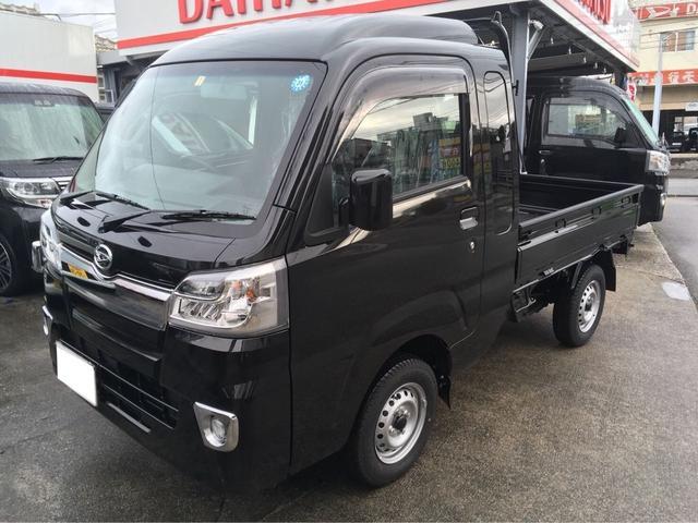 沖縄の中古車 ダイハツ ハイゼットトラック 車両価格 ASK リ済込 新車  ブラックM
