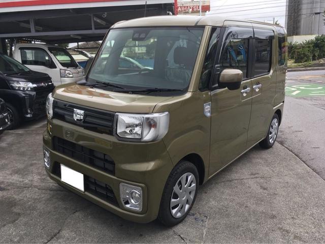 沖縄の中古車 ダイハツ ウェイク 車両価格 ASK リ済込 新車  カーキメタリック