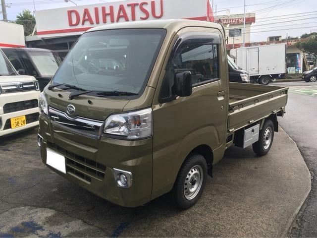 沖縄の中古車 ダイハツ ハイゼットトラック 車両価格 ASK リ済込 新車  DグリーンM