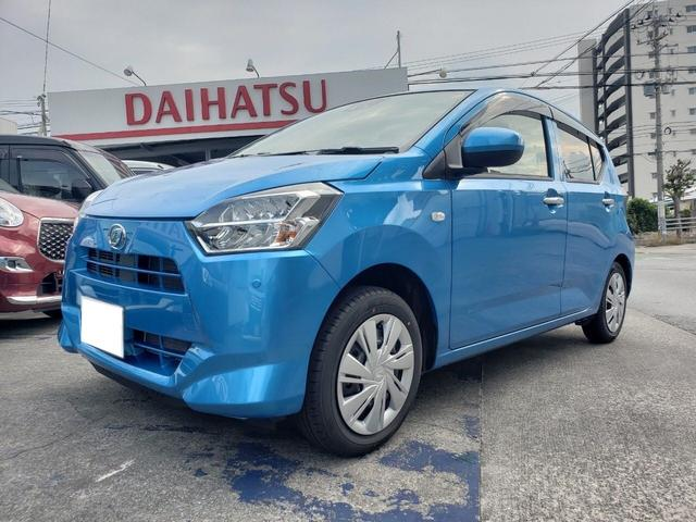 沖縄の中古車 ダイハツ ミライース 車両価格 ASK リ済込 新車  ブルーM