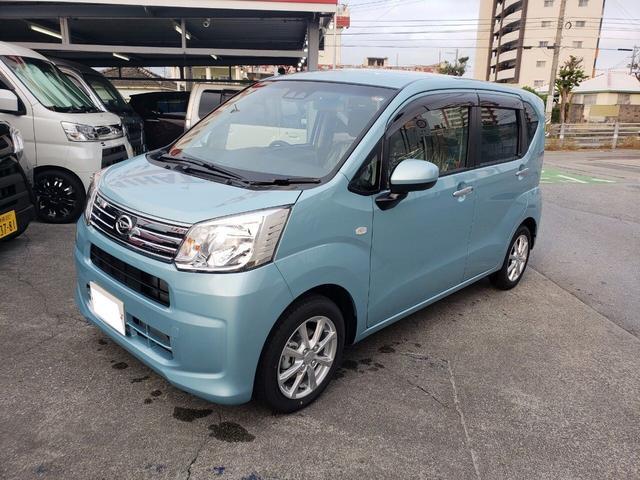 沖縄の中古車 ダイハツ ムーヴ 車両価格 ASK リ済込 新車  グリーンM
