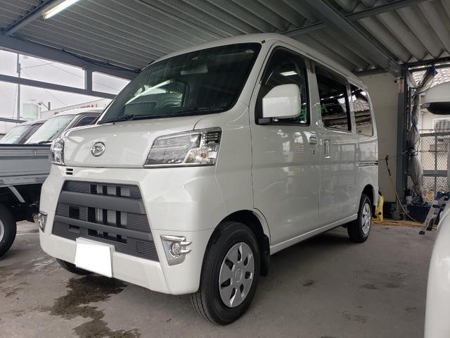 沖縄の中古車 ダイハツ ハイゼットカーゴ 車両価格 ASK リ済込 新車  パール