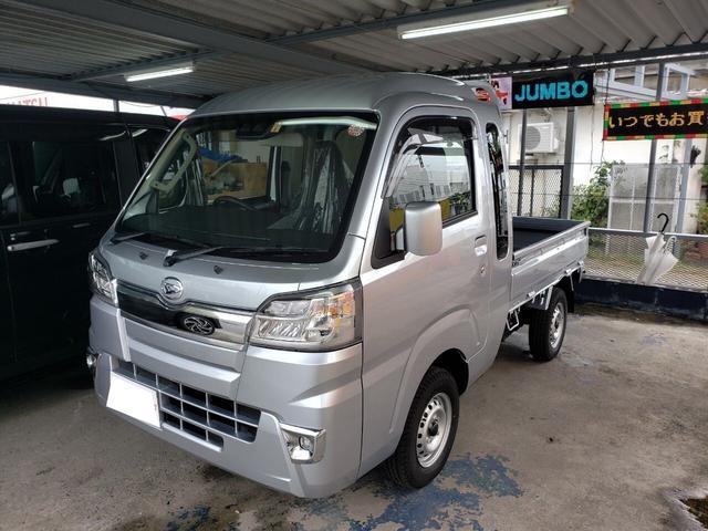 沖縄の中古車 ダイハツ ハイゼットトラック 車両価格 ASK リ済込 新車  シルバー