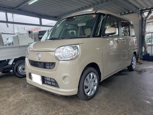 沖縄の中古車 ダイハツ ムーヴキャンバス 車両価格 ASK リ済込 新車  ベージュホワイト