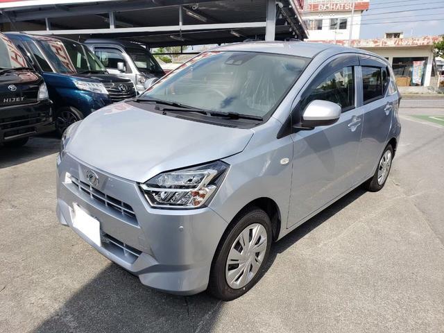 沖縄の中古車 ダイハツ ミライース 車両価格 ASK リ済込 新車  シルバーM