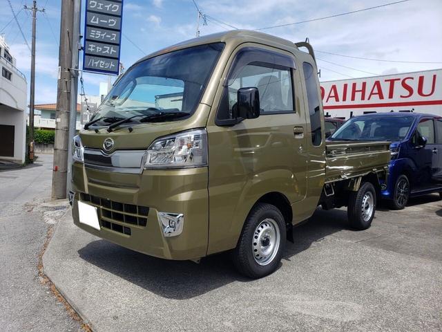 沖縄の中古車 ダイハツ ハイゼットトラック 車両価格 ASK リ済込 新車  グリーンM