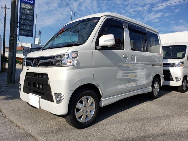 沖縄の中古車 ダイハツ アトレーワゴン 車両価格 ASK リ済込 新車  パールホワイト