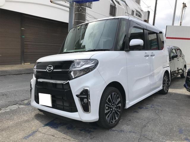 沖縄の中古車 ダイハツ タント 車両価格 ASK リ済込 新車  パールホワイト
