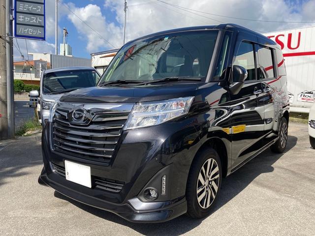 沖縄の中古車 ダイハツ トール 車両価格 185万円 リ済込 2020(令和2)年 10km ブラックマイカメタリック