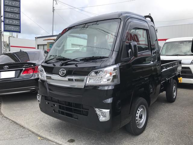 沖縄の中古車 ダイハツ ハイゼットトラック 車両価格 ASK リ済込 2020(令和2)年 7km ブラックM