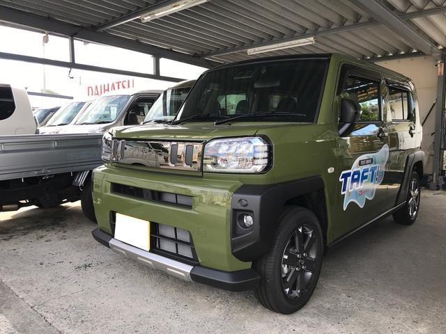 沖縄の中古車 ダイハツ タフト 車両価格 ASK リ済込 新車  グリーンM
