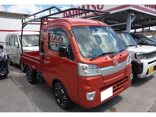沖縄県の中古車ならハイゼットトラック ジャンボSAIIIt 2WD AT LEDヘッドライト