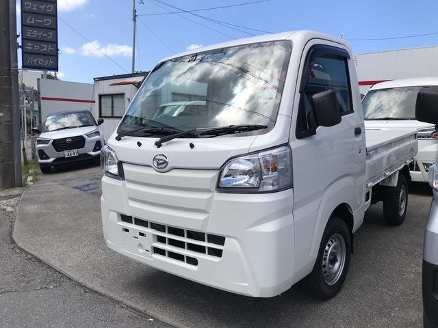 沖縄の中古車 ダイハツ ハイゼットトラック 車両価格 ASK リ済込 2020(令和2)年 8km ホワイト
