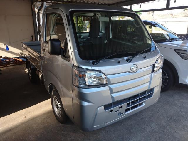 沖縄の中古車 ダイハツ ハイゼットトラック 車両価格 ASK リ済込 新車  ライトグレー