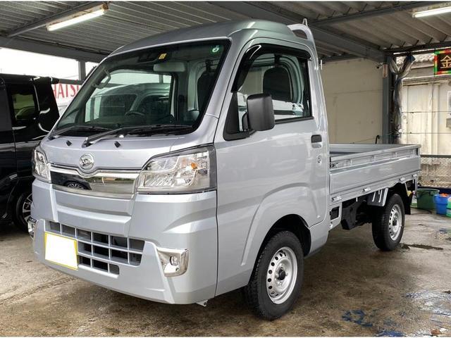 沖縄の中古車 ダイハツ ハイゼットトラック 車両価格 ASK リ済込 2020(令和2)年 7km ブライトシルバー
