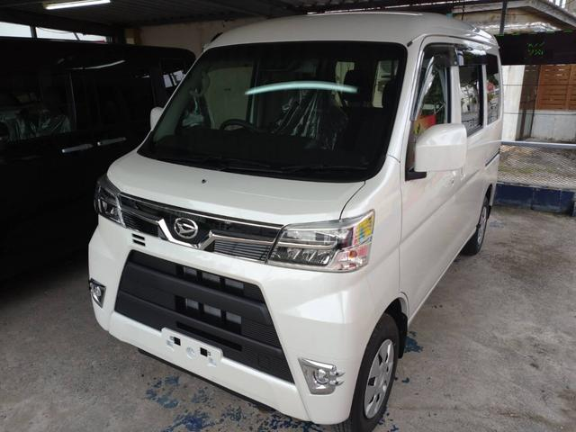 沖縄の中古車 ダイハツ ハイゼットカーゴ 車両価格 ASK リ済込 新車  パールホワイト