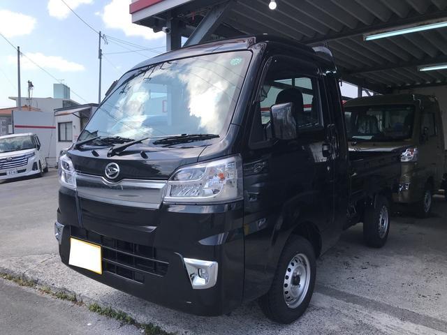 沖縄の中古車 ダイハツ ハイゼットトラック 車両価格 119万円 リ済込 2020(令和2)年 11km ブラックM