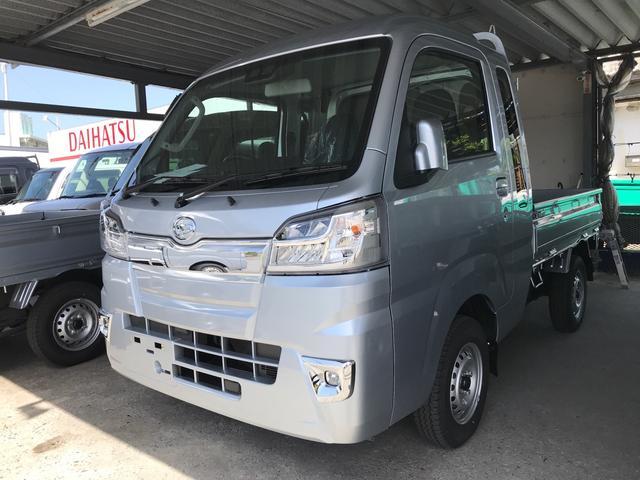 沖縄の中古車 ダイハツ ハイゼットトラック 車両価格 ASK リ済込 2021(令和3)年 6km シルバーM