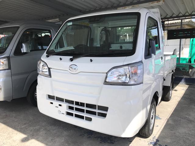 沖縄県沖縄市の中古車ならハイゼットトラック  ダンプ SAIIIt PTO プロテクタータイプ 4AT 衝突軽減システム